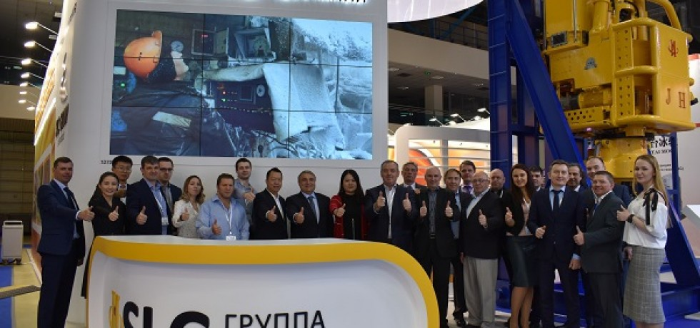 The SLC Group took part at the NEFTEGAZ 2019 Exhibition (15-18 April 2019)